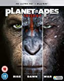 Planet of the Apes Trilogy 4K [Blu-ray]