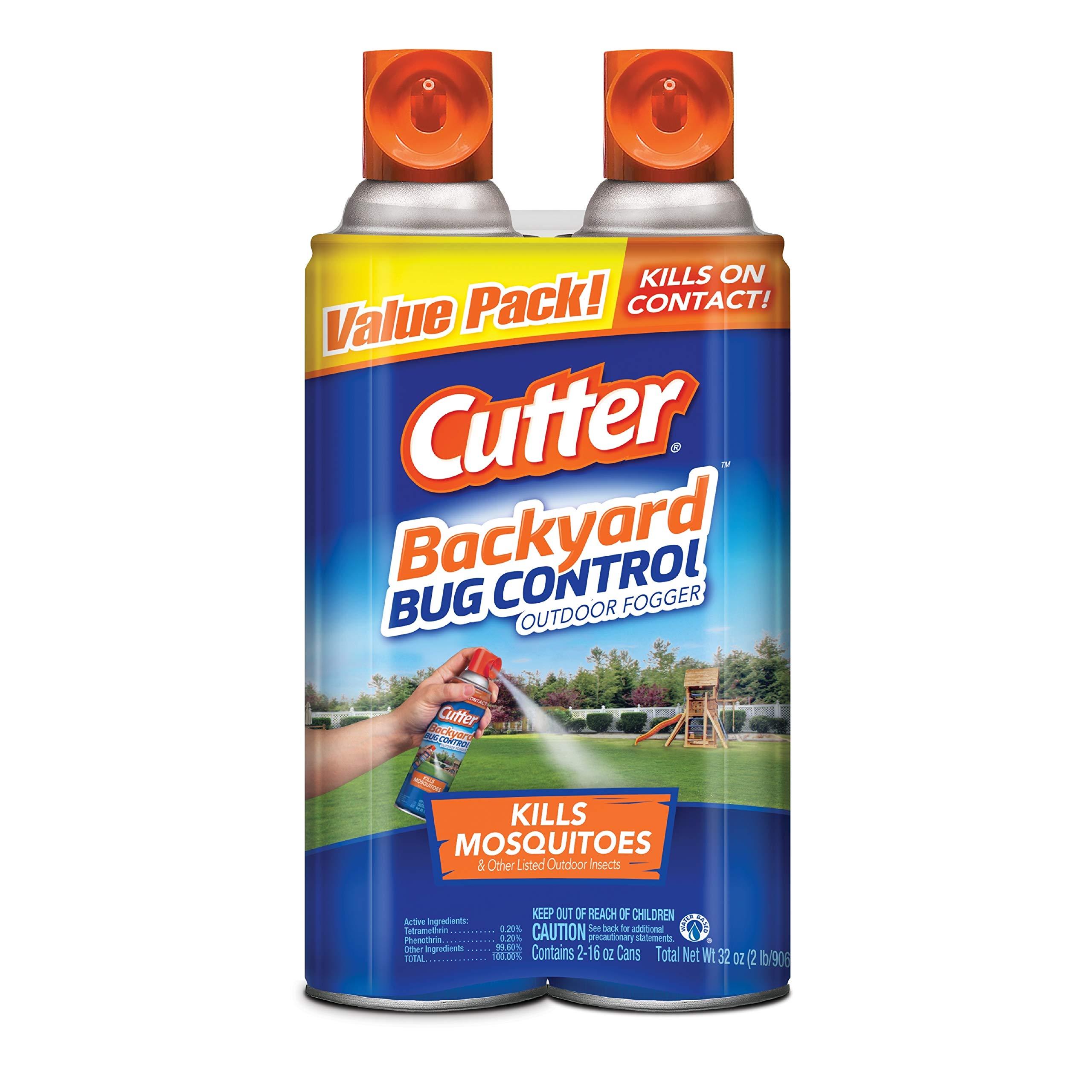Cutter Backyard Bug Control Outdoor Fogger, 2/16-Ounce by Cutter