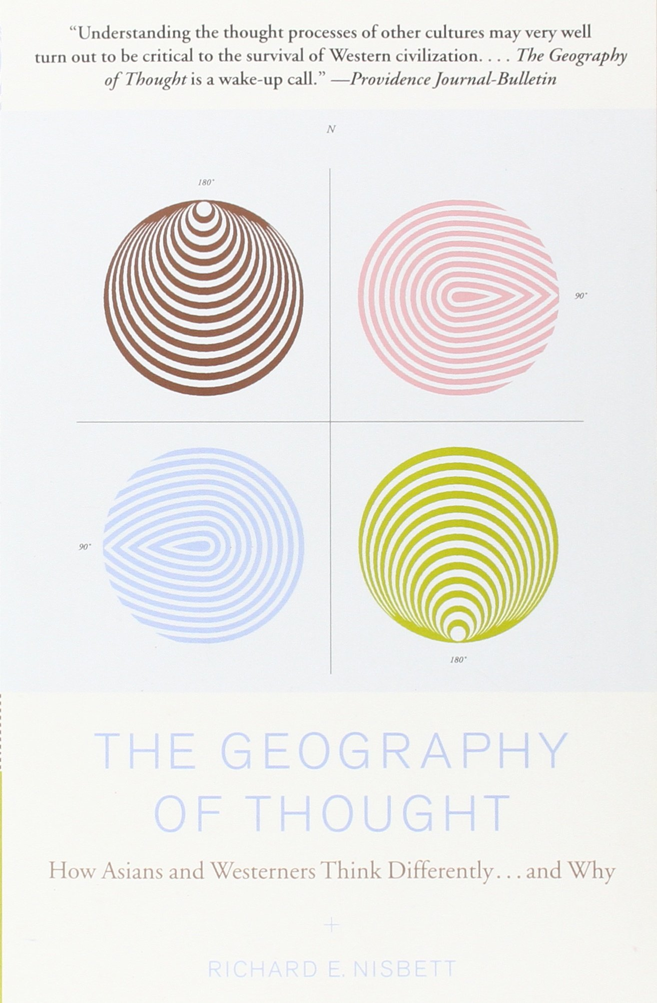 the geography of thought how asians and westerners think differently and why english edition