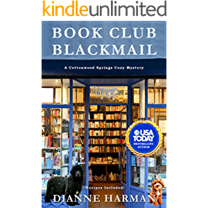 Book Club Blackmail: A Cottonwood Springs Cozy Mystery