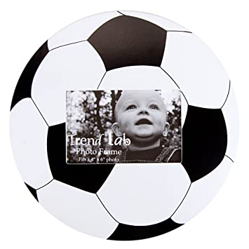 Amazon.com : Trend Lab Photo Frame, Soccer Ball : Nursery Picture ...