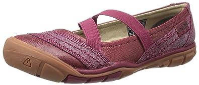 KEEN Women's Rivington CNX Criss-Cross Shoe, Beet Red, ...