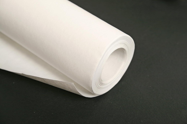 Clairefontaine 495701C Rolle Kraftpapier 1 St/ück 25 x 1m 60g wei/ß