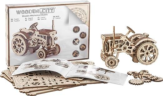 3D-Puzzle Zusammenbau ohne Klebstoff 3D-Holzfunktionsbaus/ätze Mystery Box by WOODEN.CITY