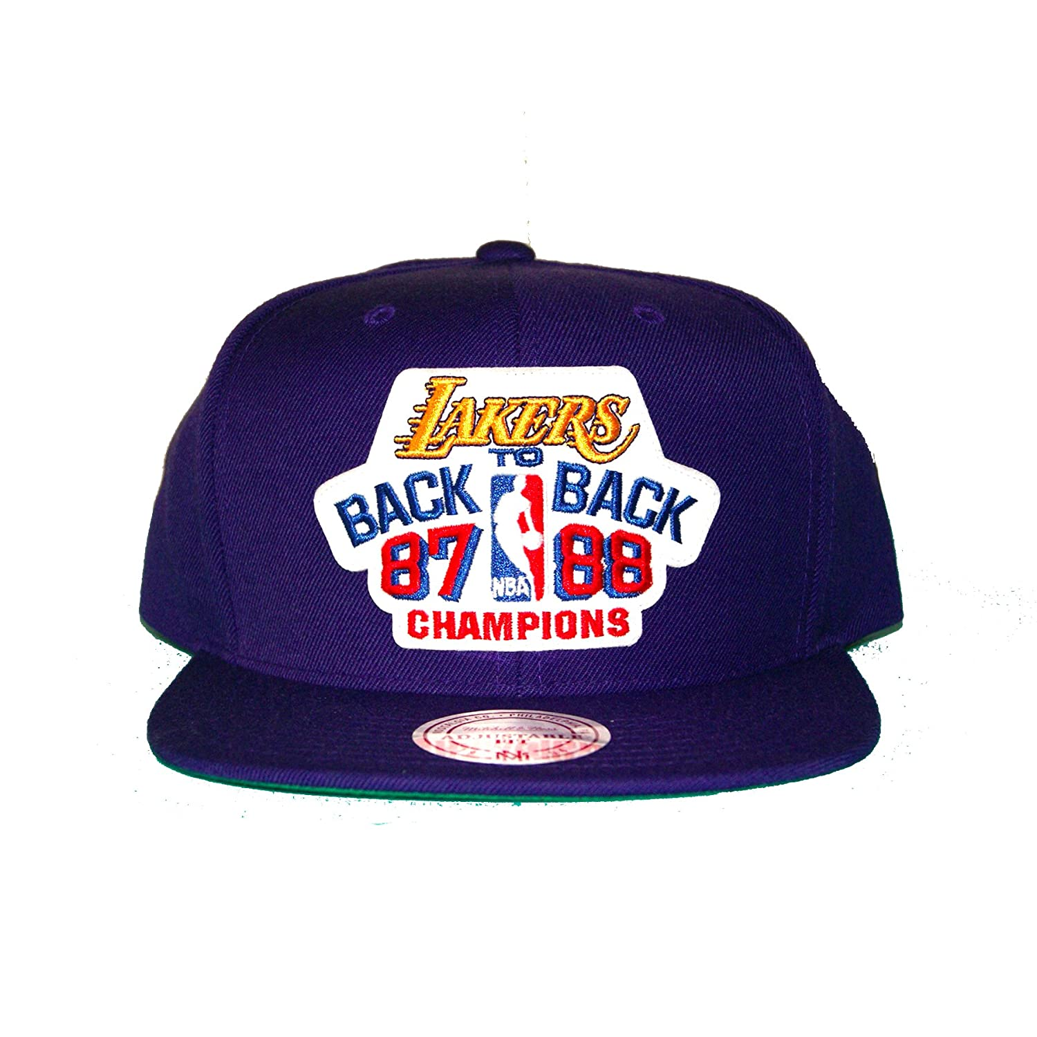 Mitchell Ness 87 88 espalda 2 los angeles lakers nba Champions ...