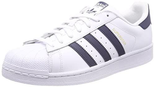 eabaf3080bd26 adidas Men s Superstar Low-Top Sneakers, Collegiate Navy Footwear White 0,  5.5