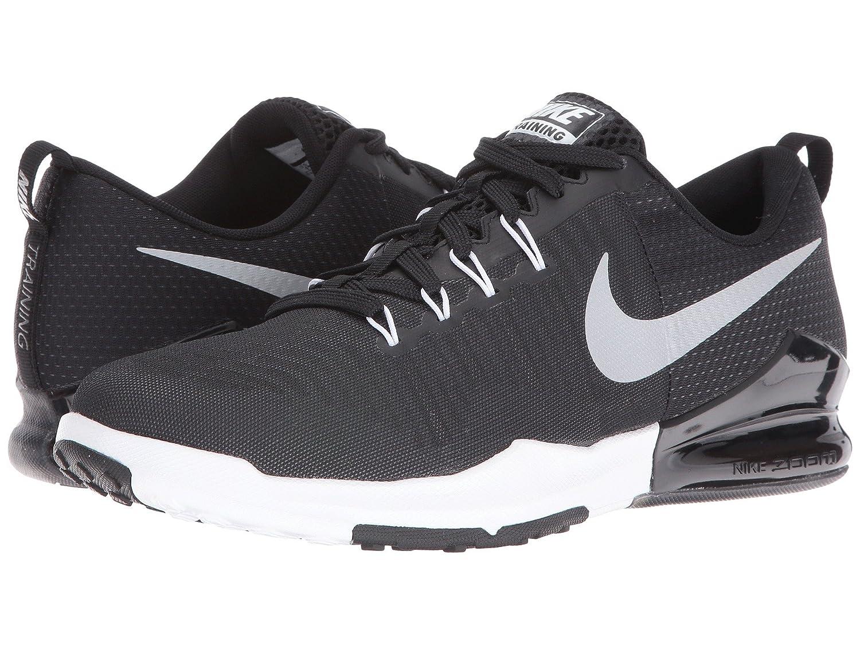 Amazon.com: Nike Zoom Train Action Black/Metallic Silver/Anthracite ...