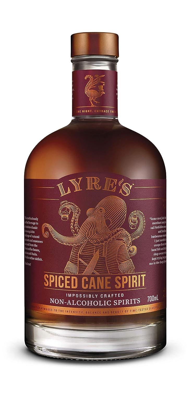 Lyre's Spiced Cane Non-Alcoholic Spirit - Spiced Rum Style   Award Winning   23.7 Fl Oz