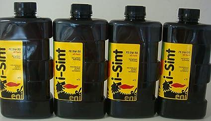 Eni i-Sint 5W30 - Aceite para Motor 100% sintético, 4 ...