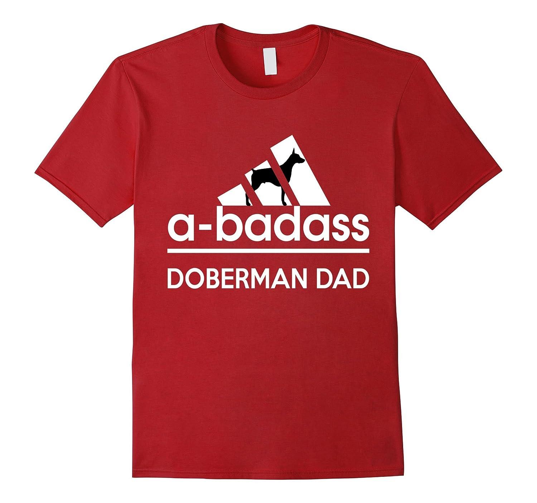 A-Badass Doberman Dad Tshirt-Art
