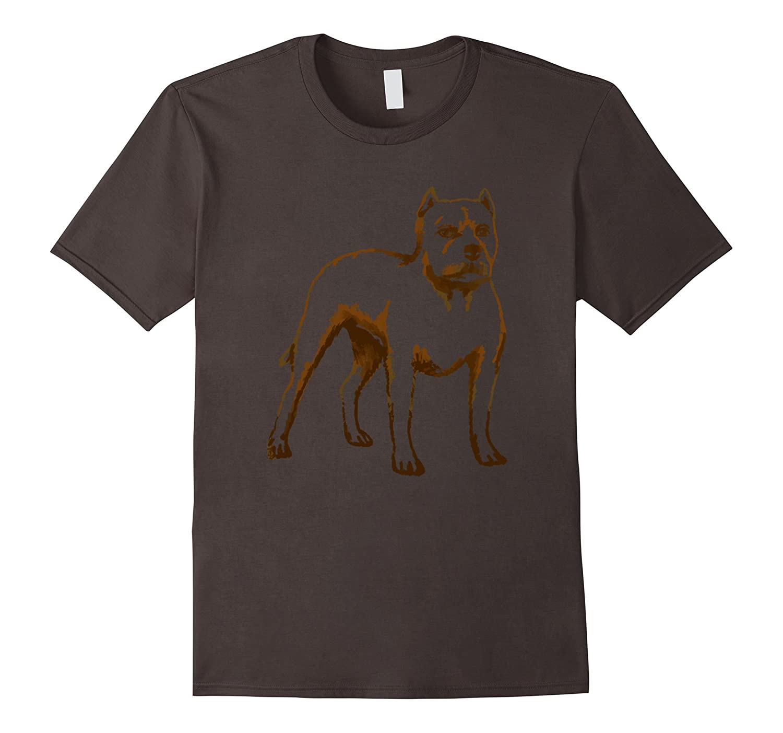 American Pit Bull Terrier Dog T Shirt Tshirt tee-Art