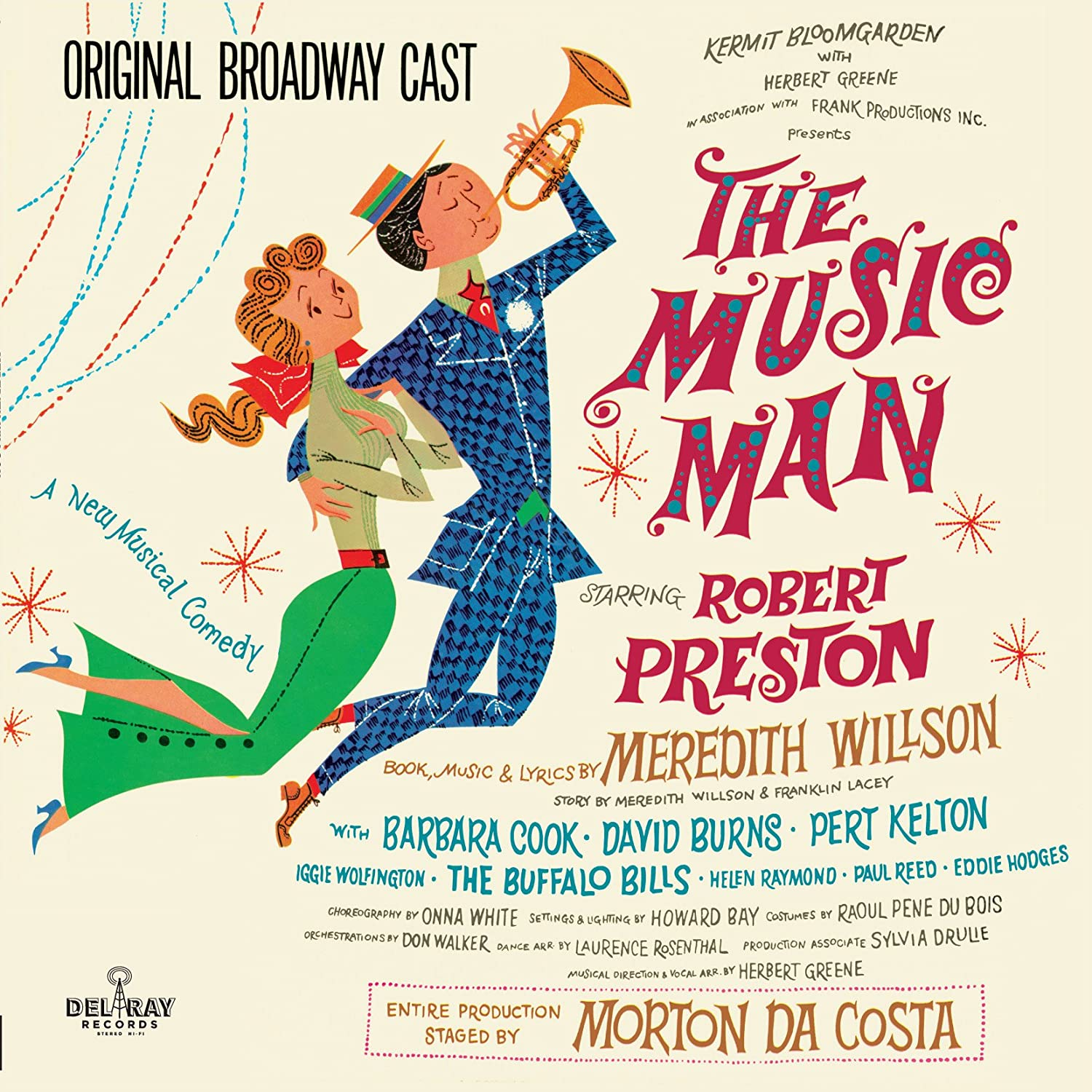 The Music Man Original Cast Selling and online shopping selling Broadway