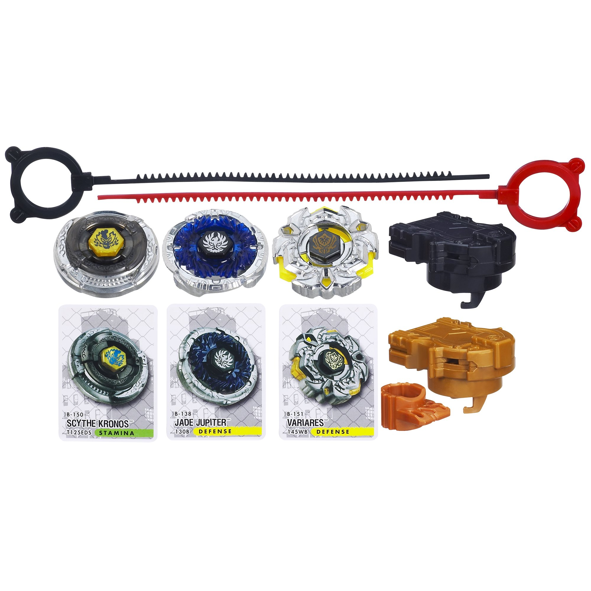 Beyblade Metal Fury Performance Top System Legendary Bladers: Descendants Set