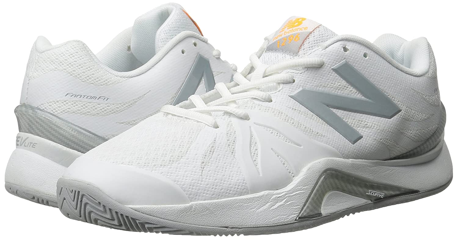 new balance white tennis shoes