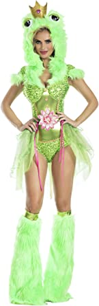 Party King Kiss Me Frog Womens Costume