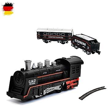 Ferrocarril SonidoModelo Eléctrico SetTrenLocomotora Starter De VaporSimulación wnOvymN80