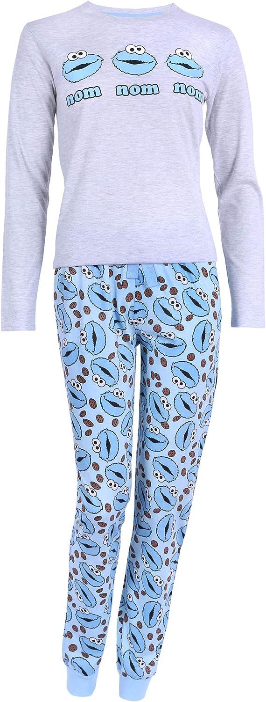 Pijama Gris. El Monstruo de Las Galletas Sesame Street