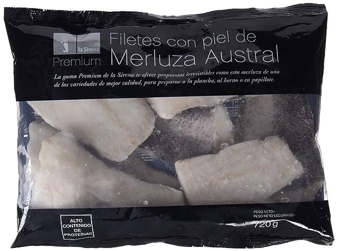 La Sirena -Fte Merluza C/P Austral Premium 720 gr