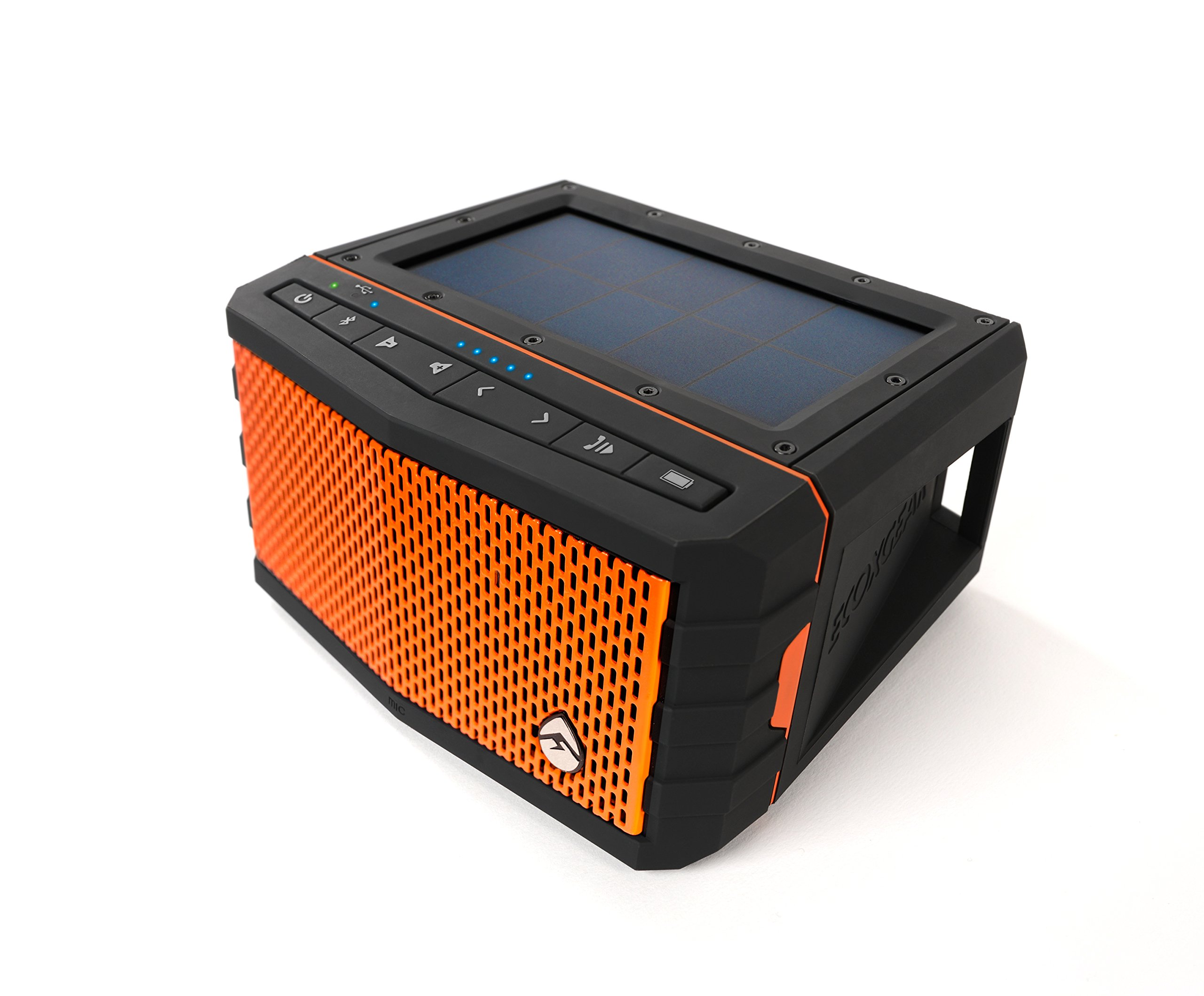 Ecoxgear Sol Jam Solar-powered Waterproof Speaker (orange) by ECOXGEAR