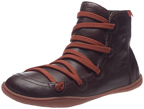 Coffing Peu Cami 46104, Botines para Mujer, Marron Foncé/Orange, 36 EU: Amazon.es: Zapatos y complementos