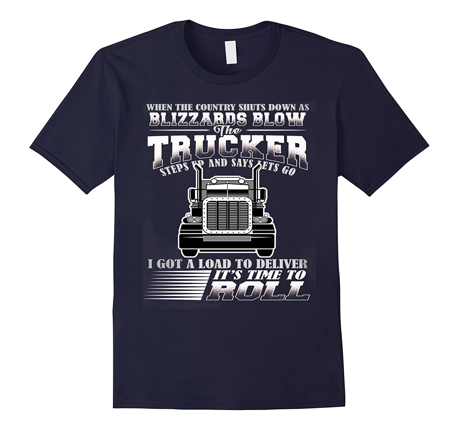 American Trucker Shirt perfect gift for a Truck Driver-PL