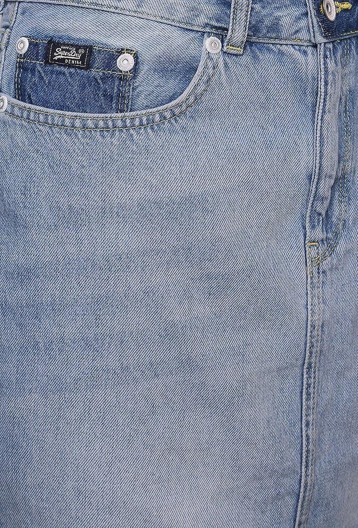 """New Women/'s Superdry Bale Vintage Denim Mini Short Skirt W28/"""""""