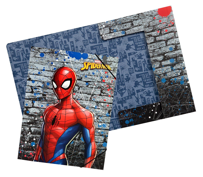 Marvel Spider-Man formato A4 Undercover splo0300/cartellina con ELASTICO
