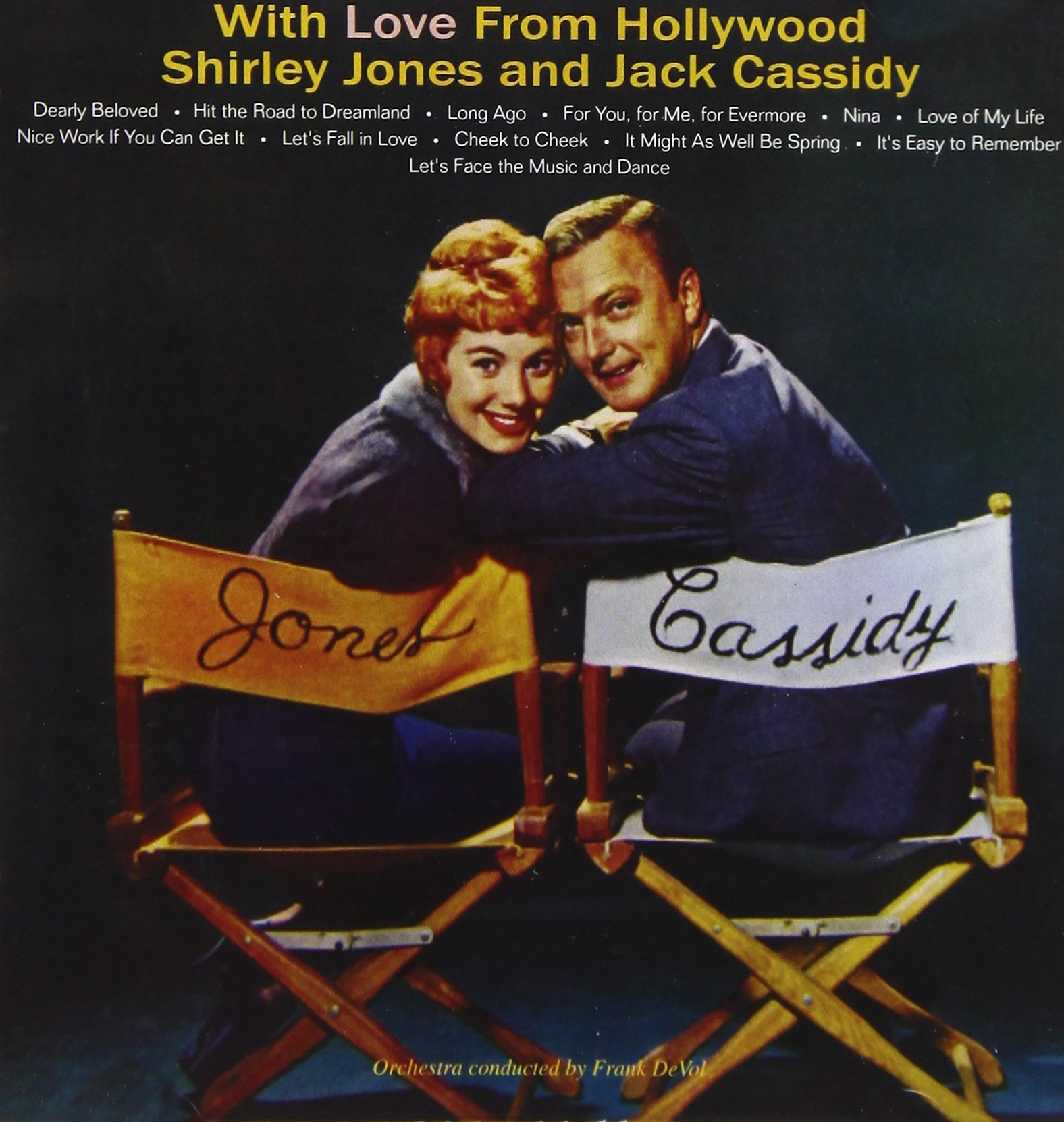 CD : SHIRLEY JONES & JACK CASSIDY - With Love From Hollywood (United Kingdom - Import)