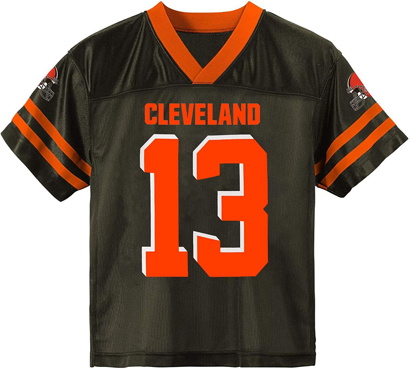 Odell Beckham Jr Cleveland Browns #13 Brown Youth Player Home Jersey