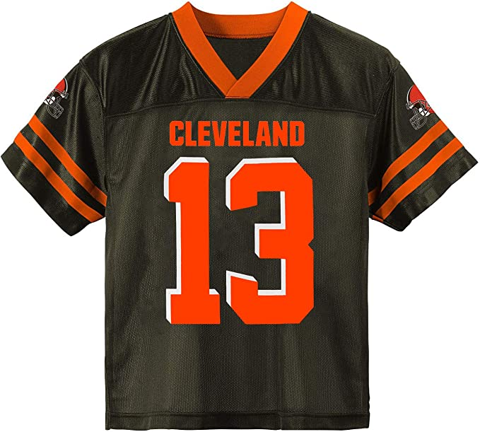 Odell Beckham Jr Cleveland Browns #13 White Youth 8-20 Away Game Day Player Jersey