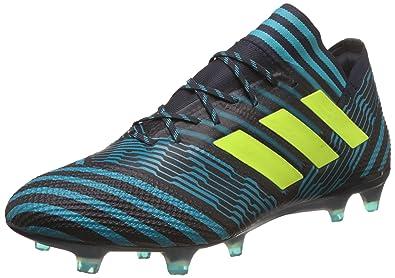 910cdb53d1b3 Adidas Men's Nemeziz 17.1 Fg Legink/Syello/Eneblu Football Boots - 10 UK/
