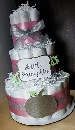 Amazon Little Pumpkin Diaper Cake