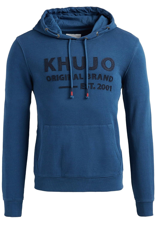 Khujo Herren Sweatshirt WASP mit Logo auf der Front