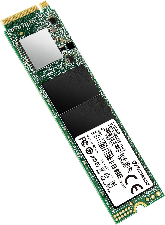 Transcend 512gb Pcie Gen3 X4 M 2 Ssd 2280 Für Computer Zubehör