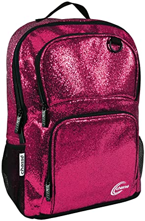 Chass Glitter Cheer Backpack For Girls – Cheerleading Travel Bag For Cheerleaders