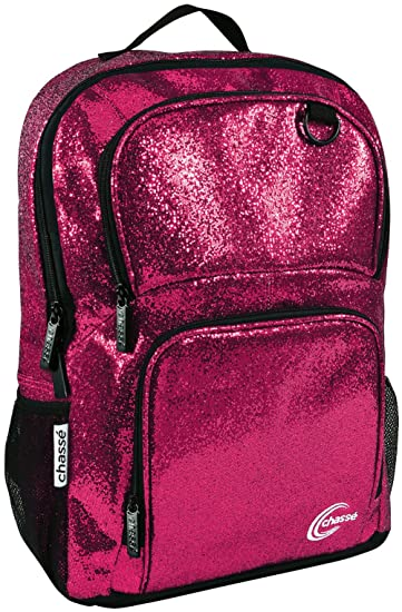 Amazon.com | Chassé Glitter Cheer Backpack