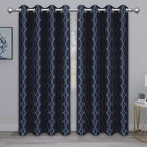 PureFit Jacquard Blackout Curtain
