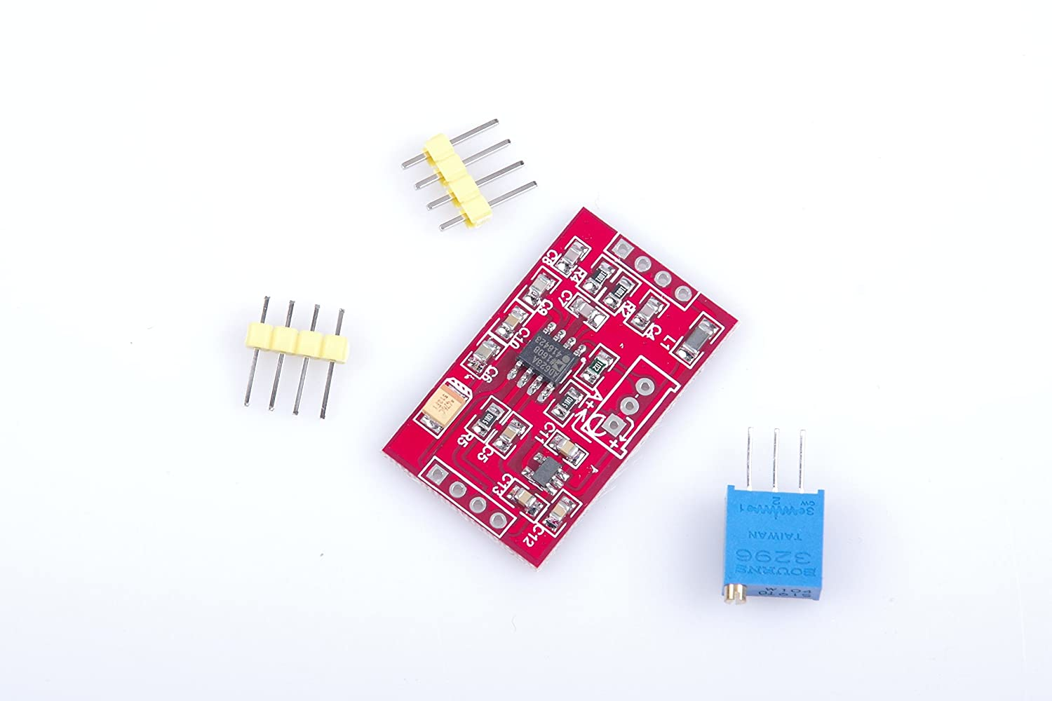 Lm Yn Millivolt Voltage Amplifier Module Ad623 Ad620 Instrumentation Problem Of Noise With Load Cell And Microvolt Home Audio Theater