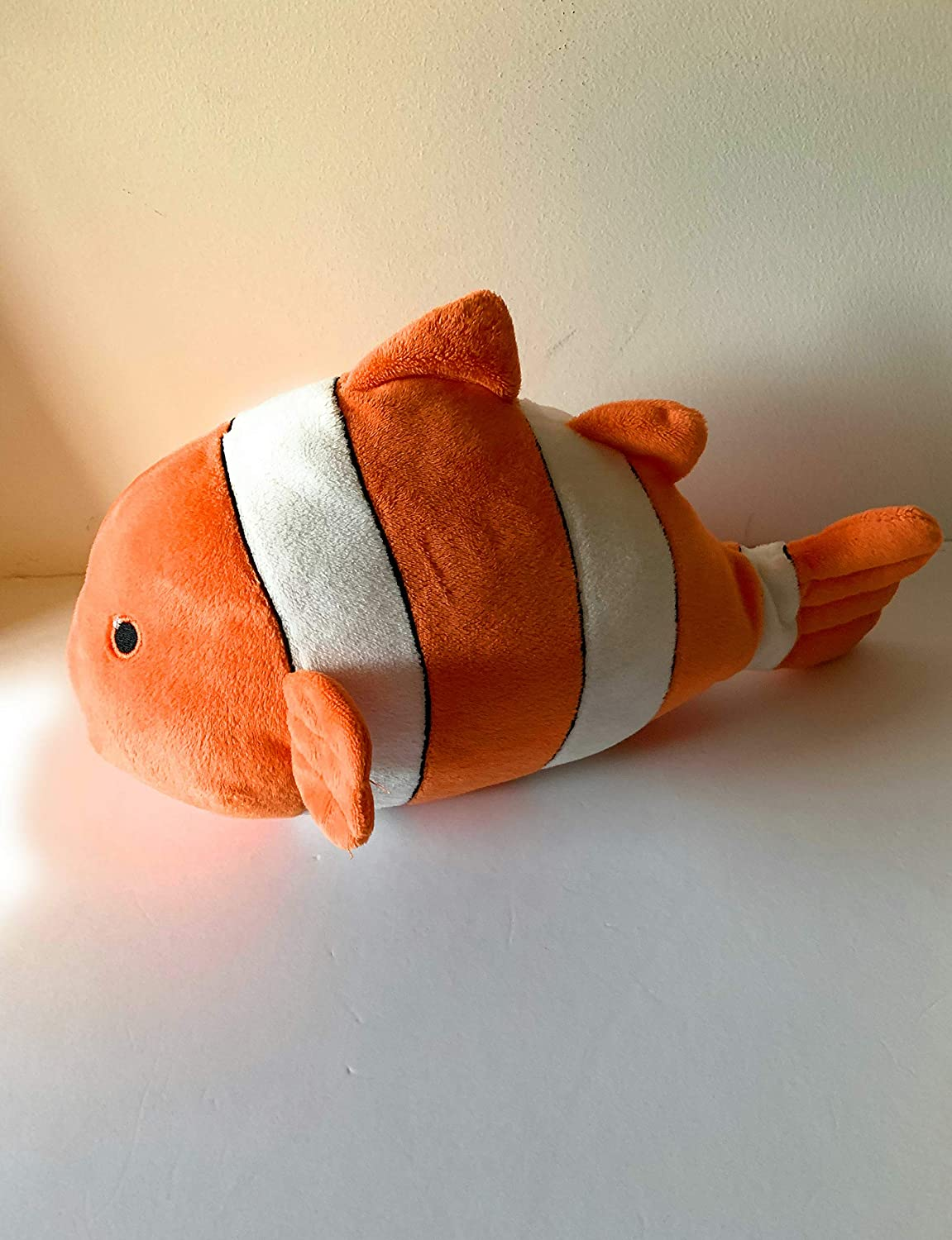Weighted stuffed animal sensory toy weighted buddy 3 lbs clown fish