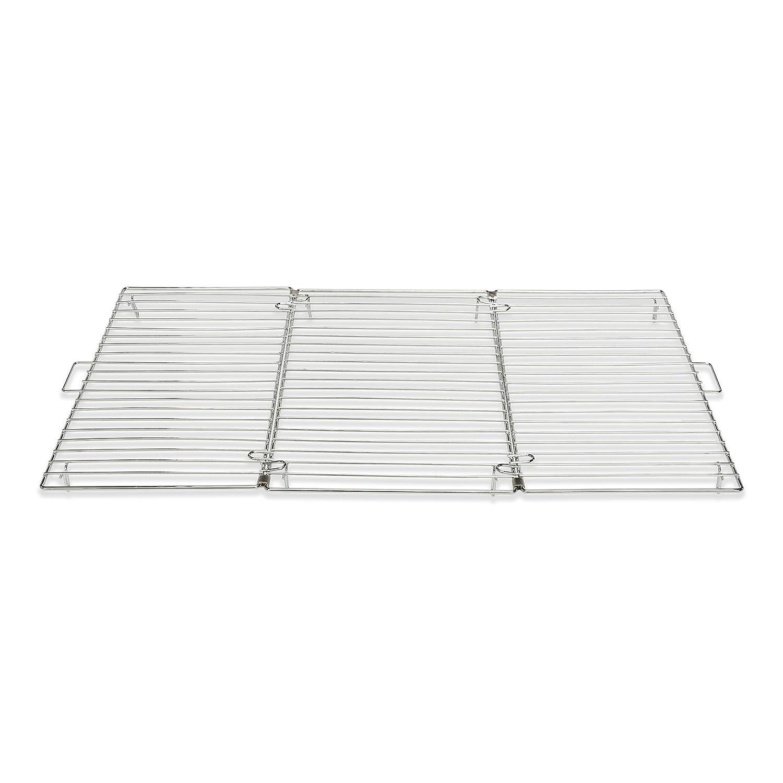 Patisse Tortenkühler faltbar, Edelstahl, Silber, 46 x 32 x 2 cm 01323