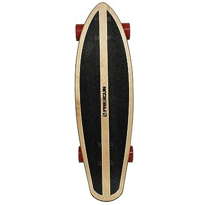 """Freegun Fat Skateboard Mixte Adulte, Noir, 27"""""""