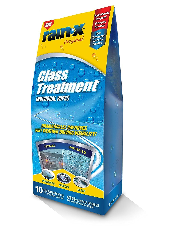 Rain-X 630021-6PK Original Glass Treatment Wipes - 10 Count (Pack of 6)