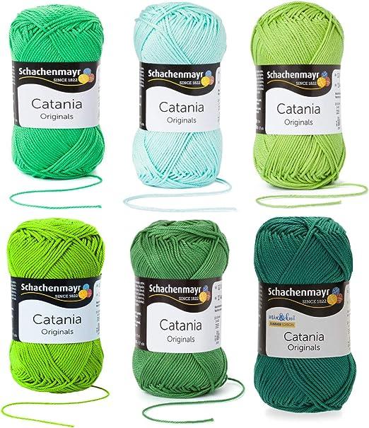 gomitolo di lana istruzioni incluse per un porcellino d/'India per lavoro a maglia e uncinetto Albicocca Mix C53 Schachenmayr Catania lingua italiana non garantita