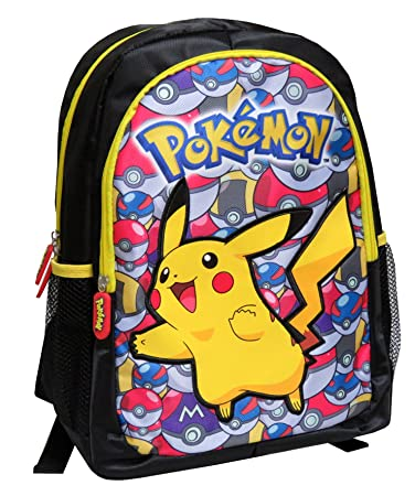 Pokemon mc-236-pk 40 cm Pikachu mit Pokeballs Rucksack