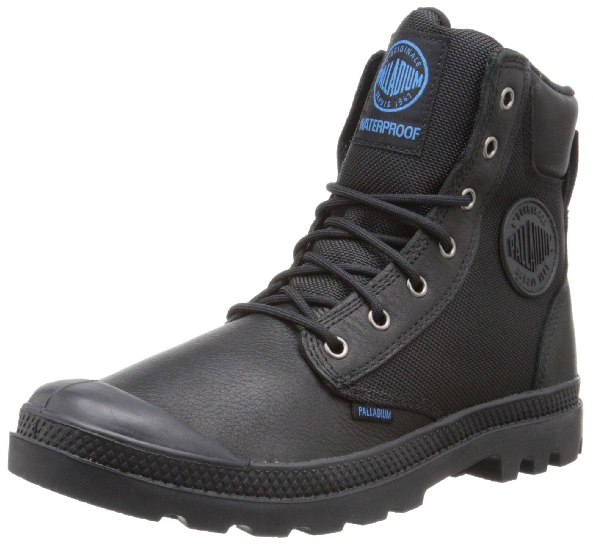 Palladium Boots Pampa Sport Cuff Wpn Waterproof Boots, Black, 4.5