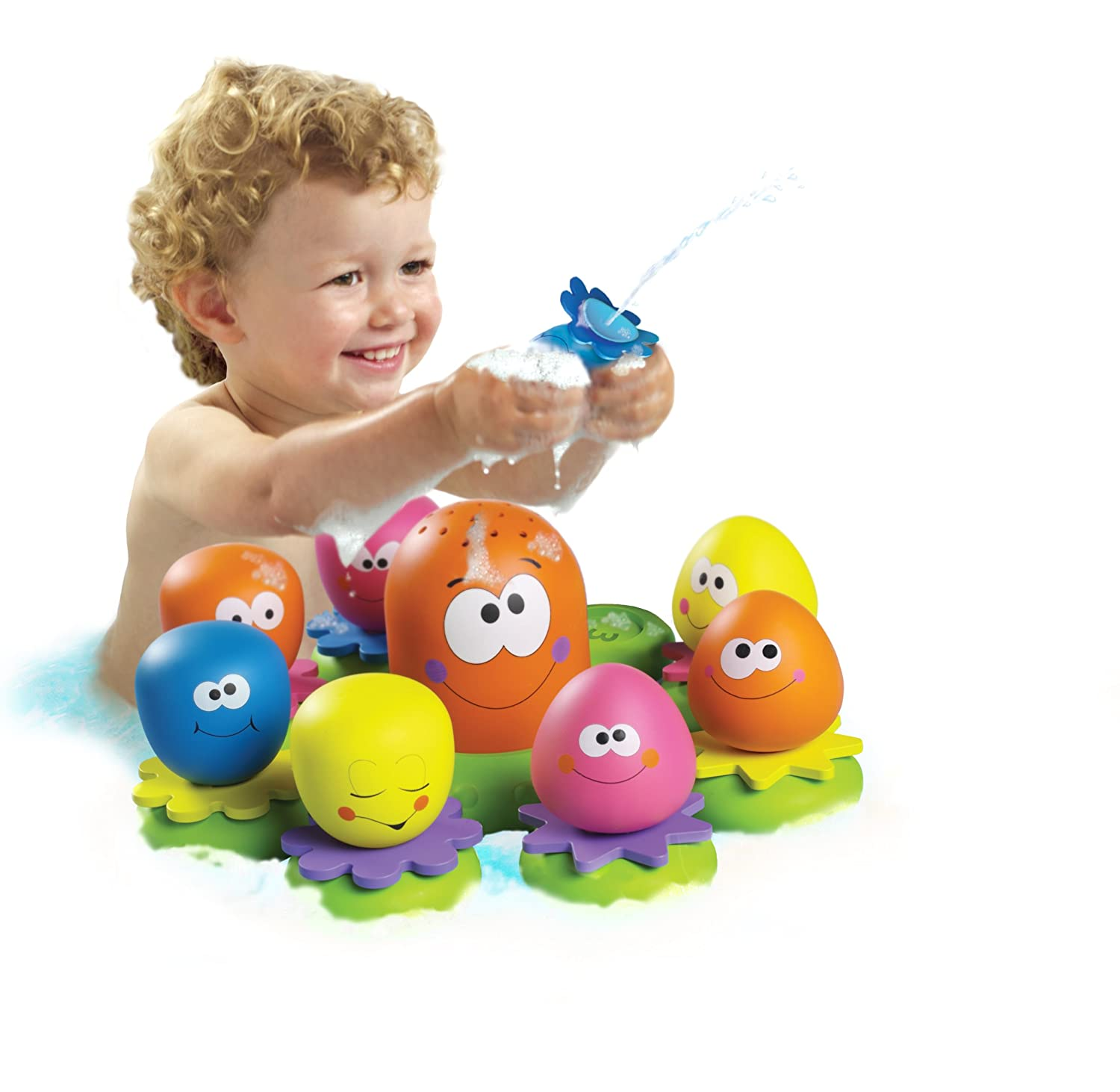TOMY Octopal Squirters Bath Toy Amazon Toys & Games