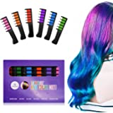 Ameauty Temporary Washable Hair Color Comb - Built in Sealant Non-Toxic and Safe for Kids, Party, Cosplay and DIY (6 popular Colors)
