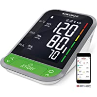 Soehnle Oberarm Blutdruckmessgerät Systo Monitor Connect 400 mit Bluetooth & App-Anbindung, Blutdruckmesser mit Bewegungssensor, Blutdruck Messgerät