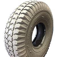 Neumáticos 3.00–4(260x 85), 4PR, Gris, bloque perfil