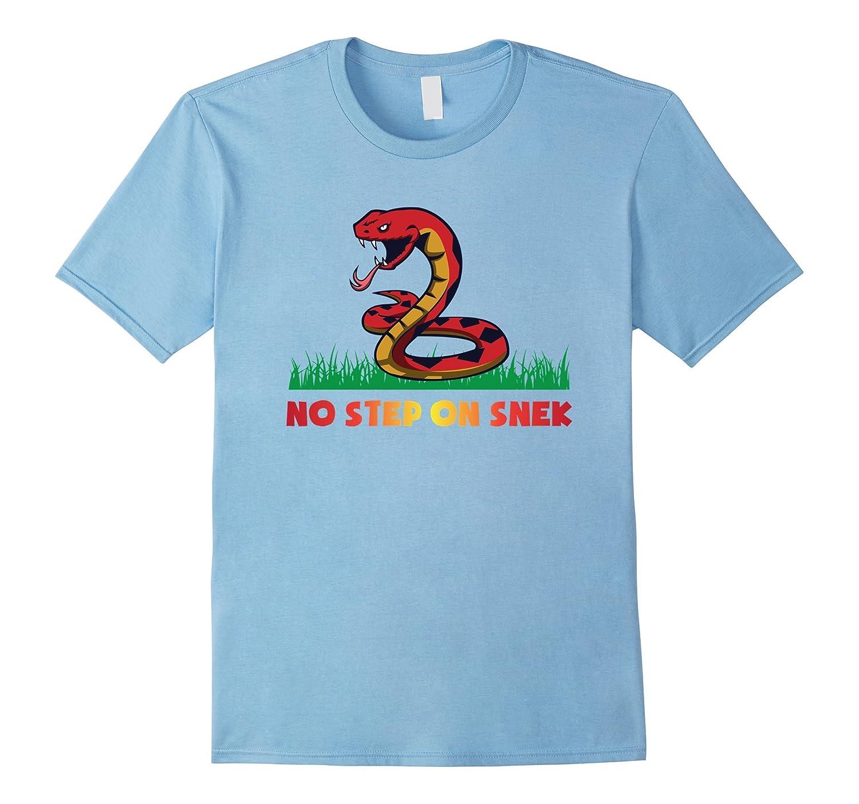 no Nodapl Step shirt On Snek